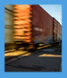 railcar in motion